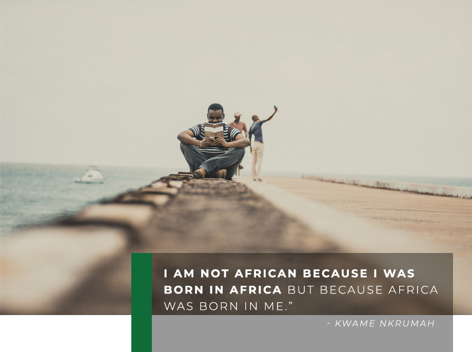 Not African quote