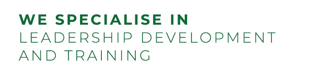 We spesialise in leadership development and training